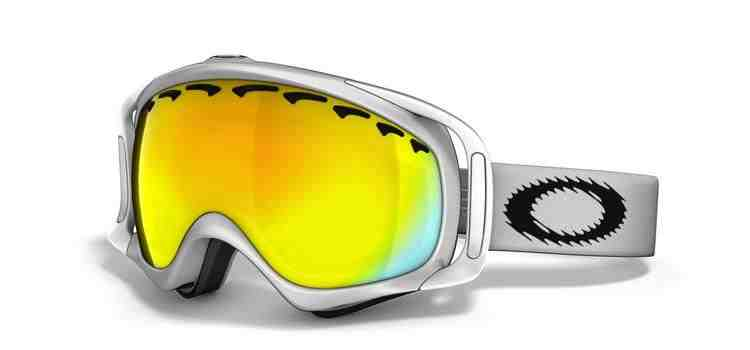 Oakley Crowbar Snow Matte White/Fire